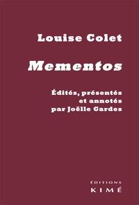 Louise Colet - Mementos.