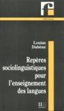 Louise Dabène - Repères sociolinguistiques pour l'enseignement des langues - Les situations plurilingues.