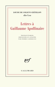 Goodtastepolice.fr Lettres à Guillaume Apollinaire Image