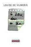 Louise de Vilmorin - la lettre dans un taxi.