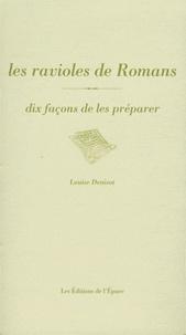 Les ravioles de Romans - Dix façons de les préparer.pdf