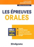 Louise Desfonds - Les épreuves orales concours sociaux.