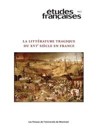 Louise Frappier et Olivier Millet - Volume 44, Numéro 2, 2008.