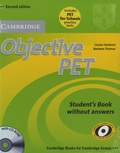Louise Hashemi - Objective PET - Student's Book without Answers.