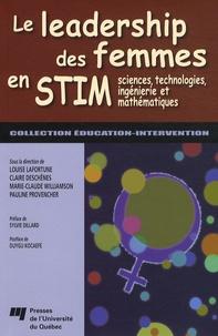 Le leadership des femmes en STIM - Sciences, technologies, ingénierie et mathématiques.pdf