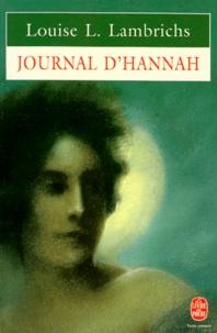 Louise Lambrichs - Journal d'Hannah.