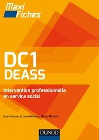 Louise-Mirabelle Biheng-Martinon et Michelle Gagnadoux - DC1 DEASS - Intervention professionnelle en service social.