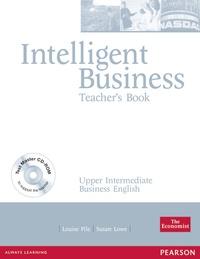 Louise Pile - Intelligent Business  Upper Intermediate teacher's book with test master multi-ROM.