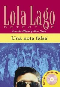 Lourdes Miquel et Neus Sans - Una nota falsa. 1 CD audio