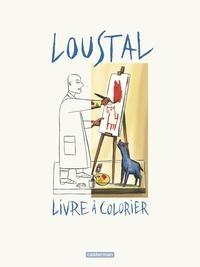 Loustal - Loustal - Livre à colorier.