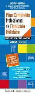 Lt Jacques Lanore - Plan Comptable Professionnel de l'Industrie Hôtelière - Liste intégrale des omptes.