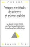 Luc Albarello et Françoise Digneffe - Pratiques et méthodes de recherche en sciences sociales.