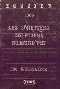 Luc Barbimesco - Les chrétiens égyptiens aujourd'hui - Éléments de discours.