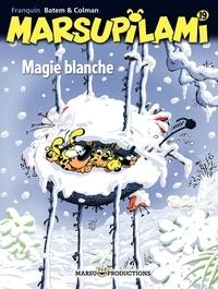 Luc Batem et Stéphan Colman - Marsupilami Tome 19 : Magie blanche.
