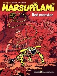 Luc Batem et  Colman - Marsupilami Tome 21 : Red monster.