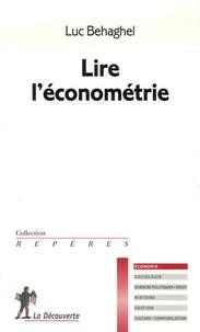 Deedr.fr Lire l'économétrie Image