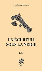 Luc Bergougnoux - Un écureuil sous la neige.