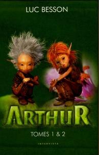 Luc Besson - Arthur  : Coffret en 2 volumes : Tome 1, Arthur et les Minimoys ; Tome 2, Arthur et la cité interdite. 1 Jeu