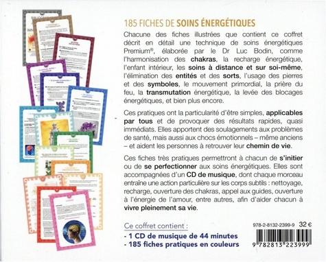 185 fiches de soins énergétiques. Soigner sans appareil et sans médicament  édition revue et augmentée -  avec 1 CD audio