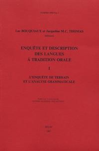 Luc Bouquiaux - Enquête et description des langues de tradition orale.