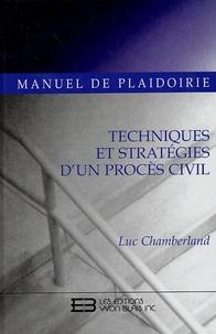 Histoiresdenlire.be Manuel de plaidoirie - Techniques et stratégies d'un procès civil Image