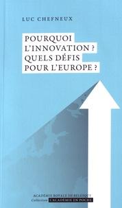 Lemememonde.fr Pourquoi l'innovation ? Quels défis pour l'Europe ? Image