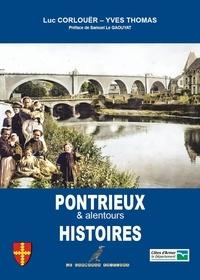 Luc Corlouër et Yves Thomas - Pontrieux Histoires - Le Tregor Naguère.
