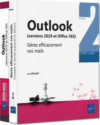Luc Démaret - Outlook (versions 2019 et Office 365) - Coffret en 2 volumes : Gérez efficacement vos mails.
