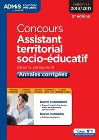 Luc Deslandes - Concours assistant territorial socio-éducatif - Annales corrigées.