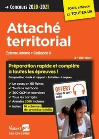 Concours Attaché territorial - Catégorie A - Préparation rapide et complète à toutes les épreuves ! - Concours 2020.