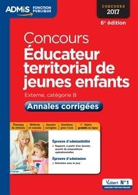 Luc Deslandes - Concours Educateur territorial de jeunes enfants - Annales corrigées.