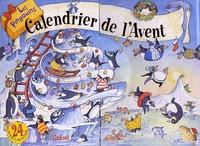 Luc-Edouard Gonot - Calendrier de l'Avent - Les pingouins.