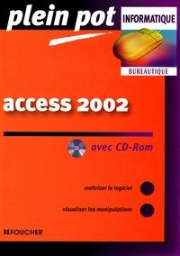 Luc Fages et Guy Van Assche - Access 2002. 1 Cédérom