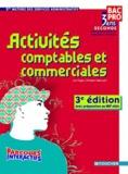 Luc Fages et Christian Habouzit - Activités comptables et commerciales 2nde professionnelle métiers des services administratifs.