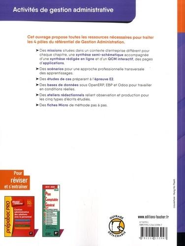 Activités de gestion administrative Bac Pro 1re. Pôles 1, 2, 3 & 4  Edition 2019
