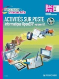 Luc Fages - Activités sur poste informatique OpenERP version 6.1 1re Bac Pro Gestion Administration. 1 Cédérom