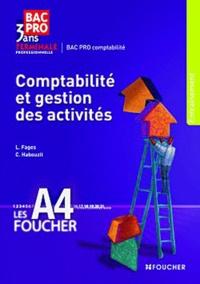 Luc Fages et Christian Habouzit - Comptabilité et gestion des activités, terminale professionnelle.