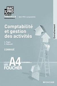 Lesmouchescestlouche.fr Comptabilité et gestion des activités Tle Bac pro comptabilité - Corrigé Image