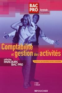 Luc Fages et Christian Habouzit - Comptabilité et gestion des activités - Tle Comptabilité.