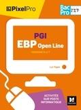 Luc Fages - PGI EBP Open Line 2de 1re Tle Bac pro Pixel Pro - Versions 6 et 7, activités sur poste informatique.