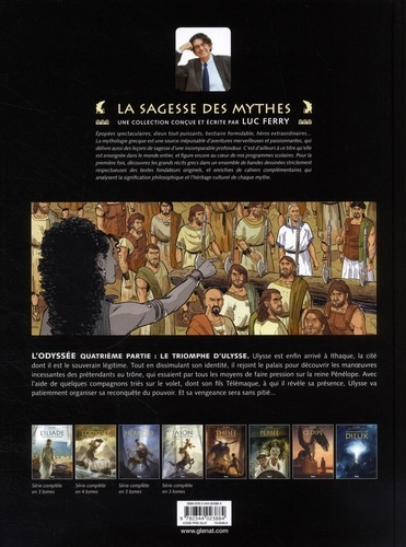 L'odyssée Tome 4 Le triomphe d'Ulysse