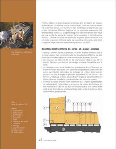 La construction en paille. Principes fondamentaux, Techniques de mise en oeuvre, Exemples de réalisations