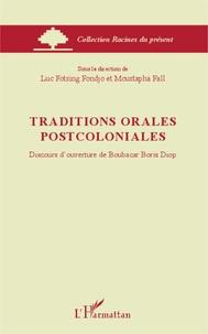 Traditions orales postcoloniales - Discours douverture de Boubacar Boris Diop.pdf