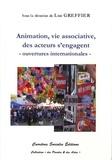 Luc Greffier - Animation et vie associative, des acteurs s'engagent - Ouvertures internationales.