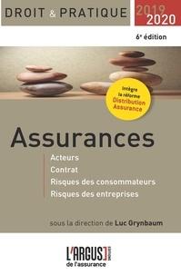Assurances - Acteurs, contrat, risques des consommateurs, risques des entreprises.pdf