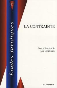 Luc Grynbaum - La contrainte.