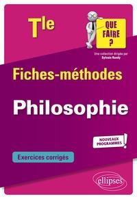Luc Lannois - Philosophie Tle - Fiches-méthodes. Nouveaux programmes.