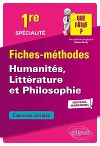 Luc Lannois et Hélène Mallet - Spécialité humanités, littérature et philosophie 1re.