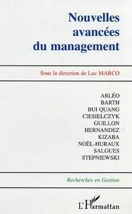 Luc Marco - Nouvelles avancées du management.