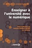 Luc Massou et Nathalie Lavielle-Gutnik - Enseigner à l'université avec le numérique - Savoirs ressources médiations.